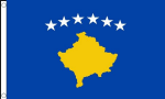 Kosovo Large Country Flag - 3' x 2'